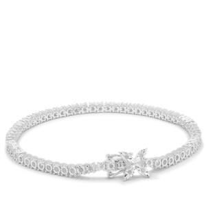 Diamond Bracelet in Sterling Silver 1.03cts