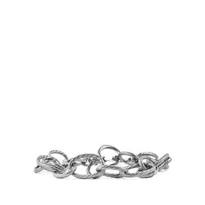 Black Rhodium Plated Sterling Silver Viorelli Bracelet