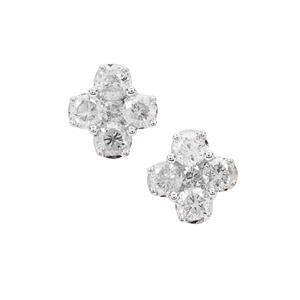 Diamond Earrings in 9K Gold 0.53ct