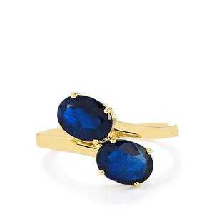 2.74ct Santorinite™ Blue Spinel 10K Gold Ring
