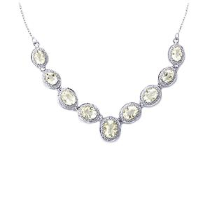 8.13ct Itinga Petalite Sterling Silver Necklace