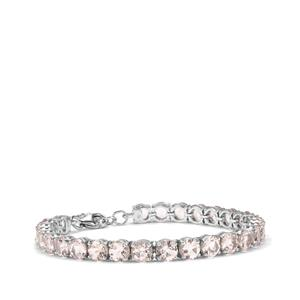 Alto Ligonha Morganite Bracelet in Sterling Silver 18.90cts