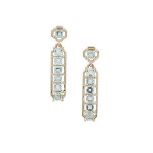 Aquaiba™ Beryl Earrings in 9K Gold 1.05cts