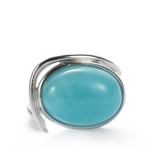 Amazonite Sarah Bennett Ring in Sterling Silver 7.68cts