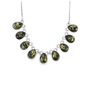 Apache Gold Pyrite Necklace in Sterling Silver 58cts