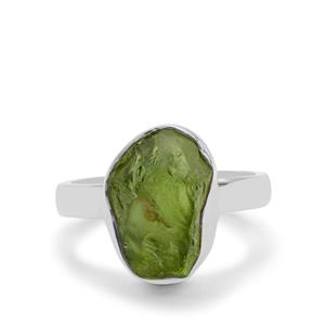 Suppatt Peridot Ring in Sterling Silver 6.36cts