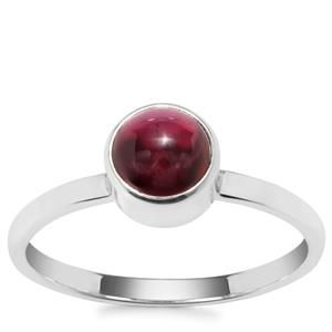 Nampula Garnet Ring in Sterling Silver 1.15cts
