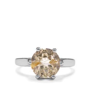3.09ct Bahia Rutilite Sterling Silver Ring