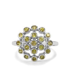 1.35ct Ambilobe Sphene Sterling Silver Ring