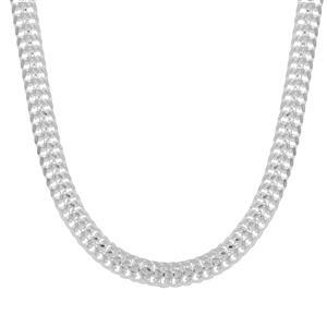 "24"" Sterling Silver Diamond Cut arrow Chain 3.54g"