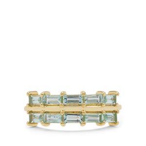 Aquaiba™ Beryl Ring in 9K Gold 1cts