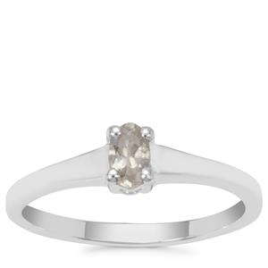 Goshenite Ring in Sterling Silver 0.20ct
