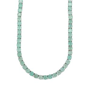 Aquaprase™ Necklace in Sterling Silver 71.35cts