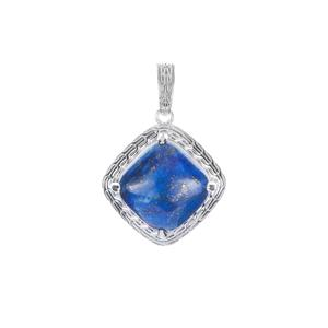 8.57ct Lapis Lazuli Sterling Silver Pendant