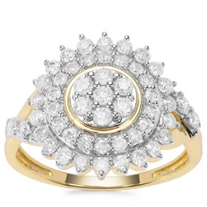 Diamantaire Diamond Ring in 9K Gold 1ct