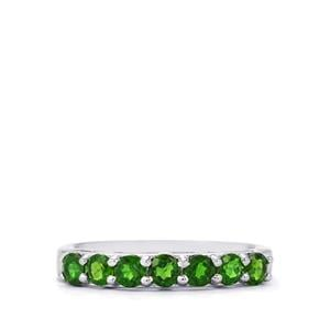 0.83ct Chrome Diopside Sterling Silver Ring