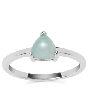Aquaprase™ Ring in Sterling Silver 0.76ct