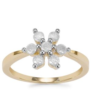 Diamond Ring in 10K Gold 0.51ct
