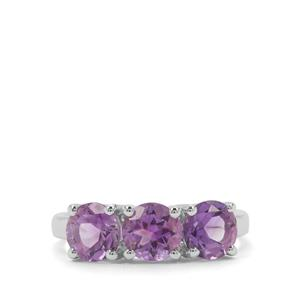 Moroccan Amethyst Ring in Sterling Silver 2.30cts