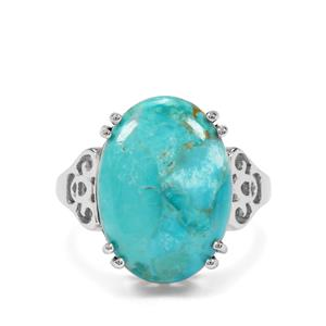 9.97ct Cochise Turquoise Sterling Silver Ring