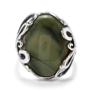 10.27ct Imperial Chalcedony Sterling Silver Ring