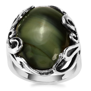 Imperial Chalcedony Ring in Sterling Silver 10.27cts