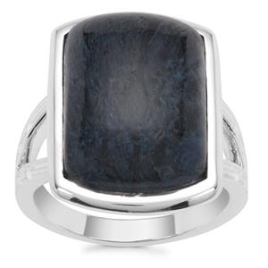 Russian Rhodusite Ring in Sterling Silver 11.70cts